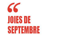 Joies de septembre